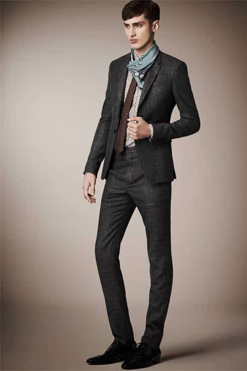 burberry prorsum 2013 mens suits