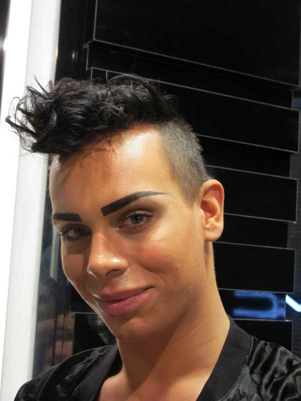 selfridges-staff,-hairstyles,short, mac make up