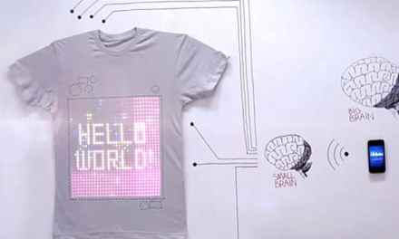 tshirtOS – The World's First Programmable T-Shirt