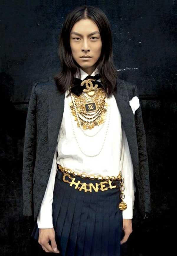 David Chiang male model asia chanel