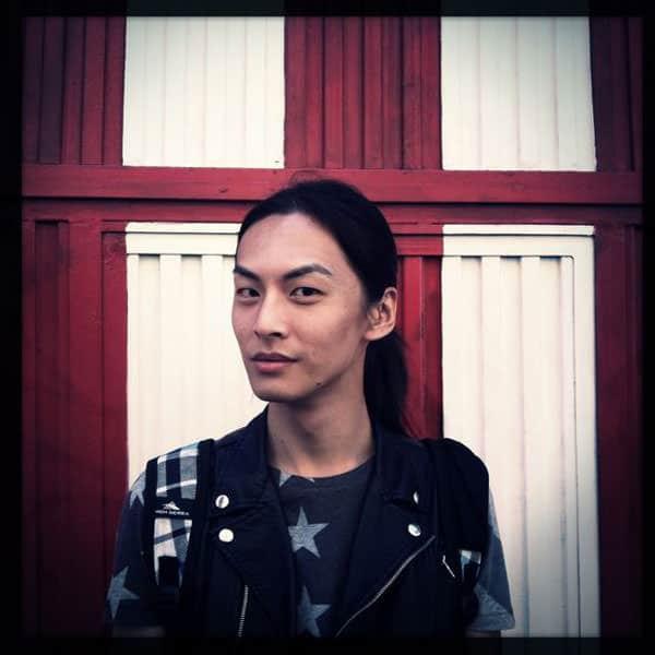 David Chiang male model asian