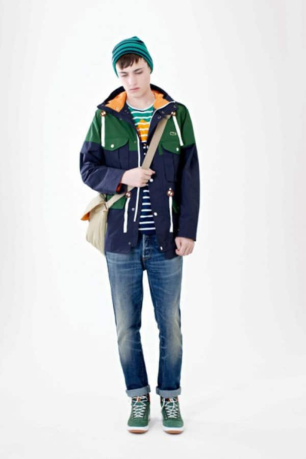 Lacoste Live Fall Winter 2012 2013 Men jacket