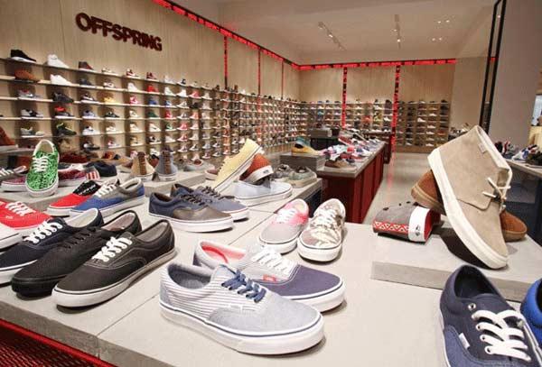 Selfridges - Mens Shoe Department, Offspring Section