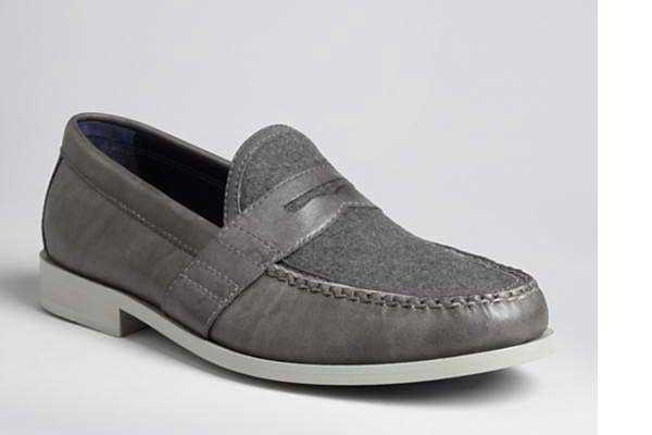 Cole Haan Gray /Grey Loafer