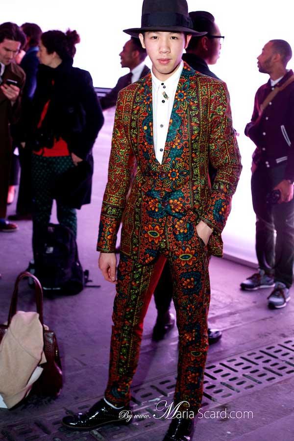 Dent de man, african suits, london collections men