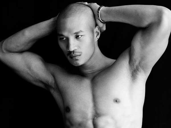 Paolo Roldan Asian male model