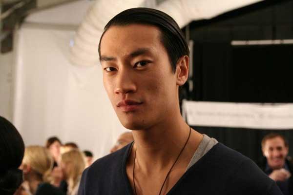 Philip Huang Asian male model