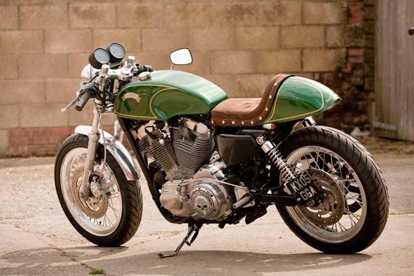 harley-davidson-super-glide,-green