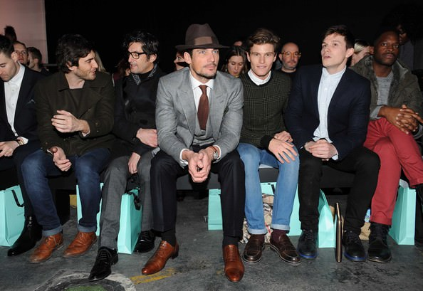 David Gandy & Oliver Chesire- London Collections Men 2013