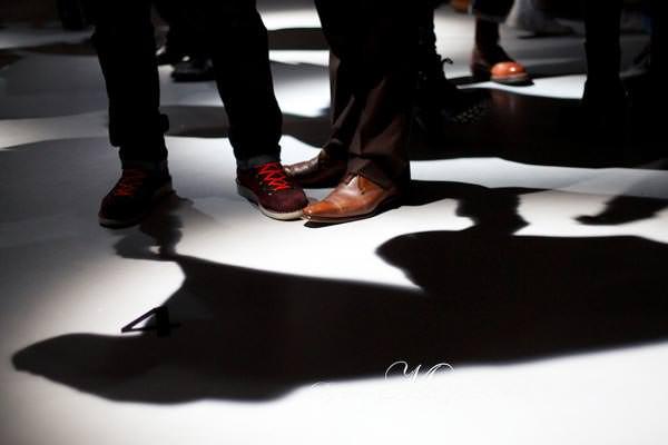 Selfridges London men's shoe department