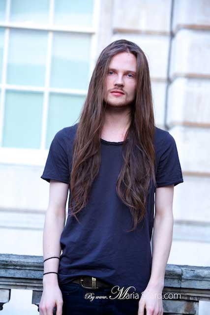 London Fashion Week - Long hair for men - Steffen Michels