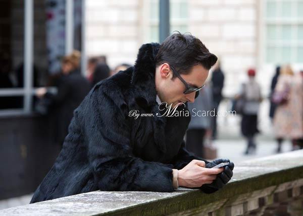 London Fashion week what men are wearing