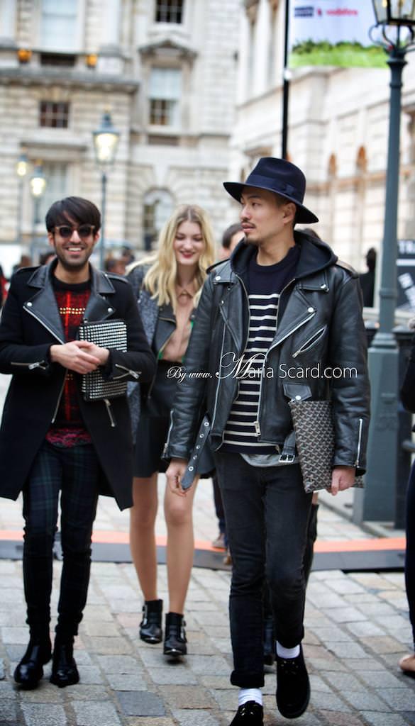 London Fashion week what men are wearing 5