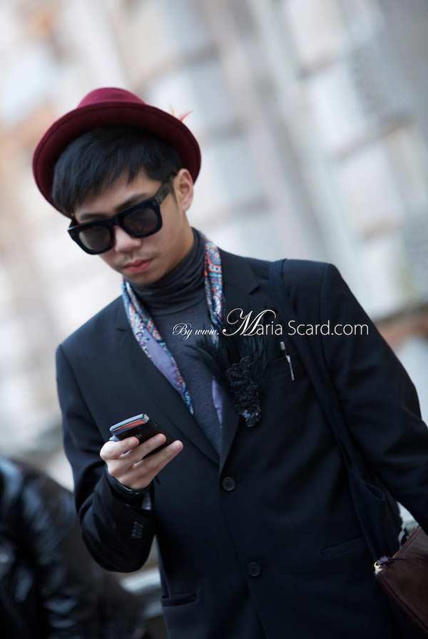 London Fashion week what men are wearing 9
