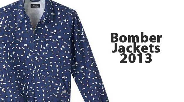 Bomber Jackets – A Must Have For 2013