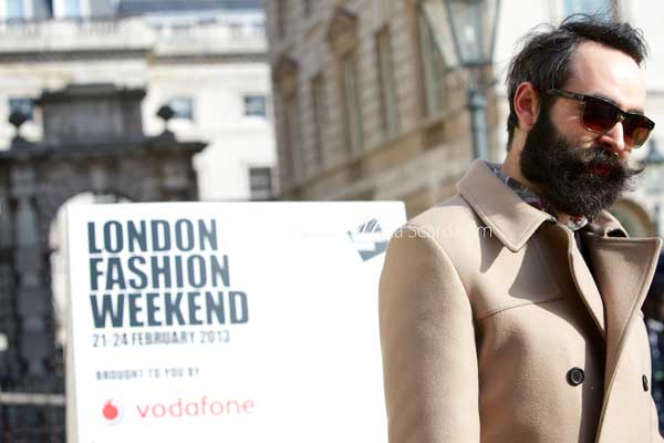 Chris Chasseaud London Fashion Week