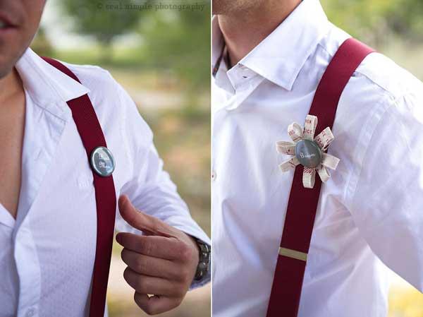 wedding grooms in burgundy braces 2013
