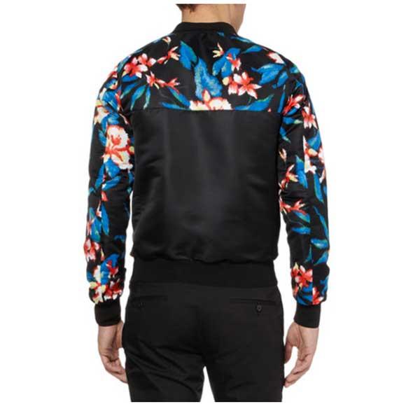 Bomber Jacket - men 2013 Balenciaga floral
