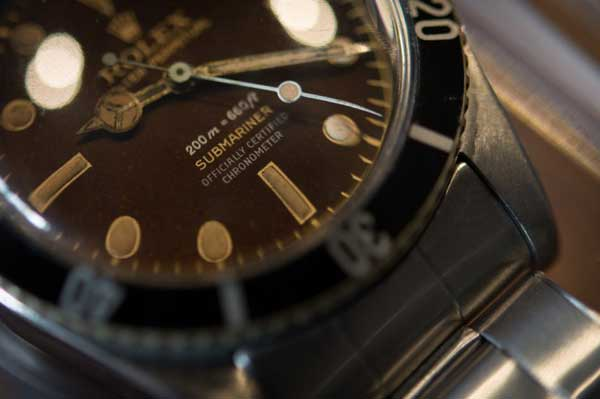 Four Lines Big Crown Chocolate Dial Rolex submariner vintage