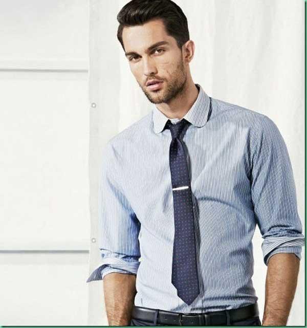 H.E Mango shirt with tie