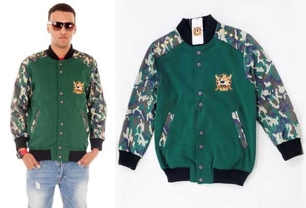 SBC camo jacket - Camouflage for men 2013