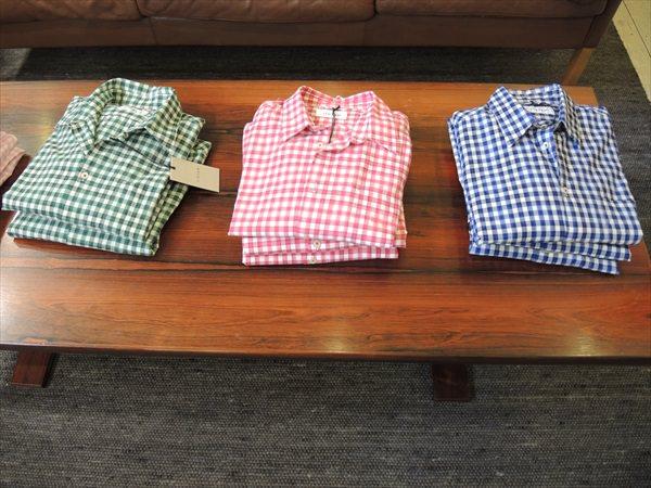 Cotton Tropical Check Shirt