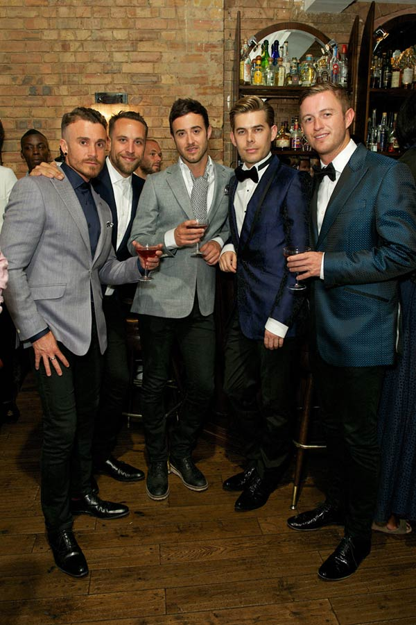 The Overtones performed in this at Duchamp party