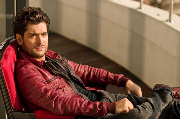 Euro Vision - Rock red leather jackets fashion for men 2013