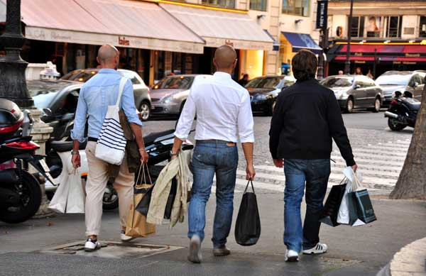 Shopping with your mates can be a whole lot of fun