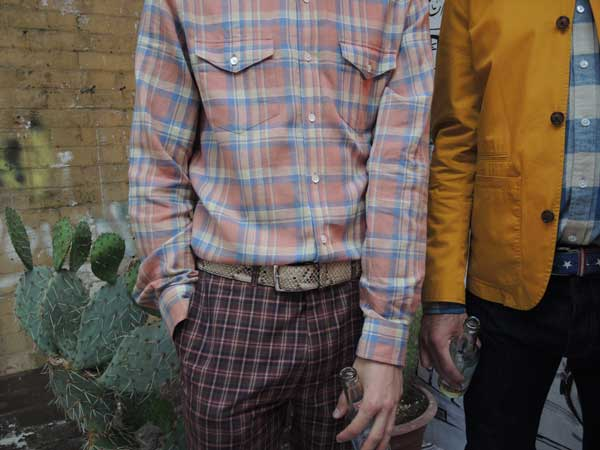 Hentsch Man - Chequered Shirts - SS14 - London Collections Men