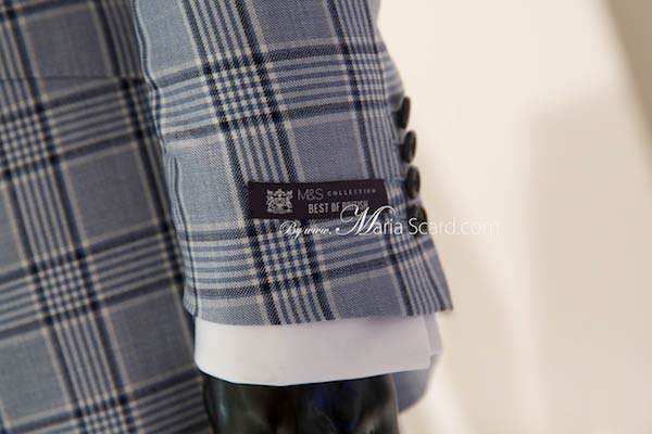 Marks & Spencer - Best of British Logo - On checkered suit