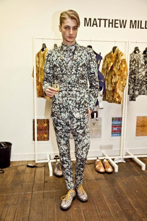 London Collections Men - Matthew Miller Spring Summer 2014 Collection - Catwalk