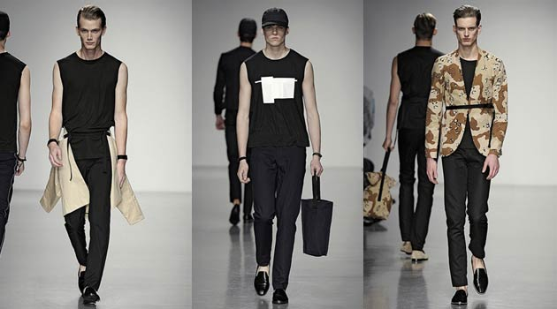 Lee Roach Spring Summer 2014 – Black, Beige & Camo Rule