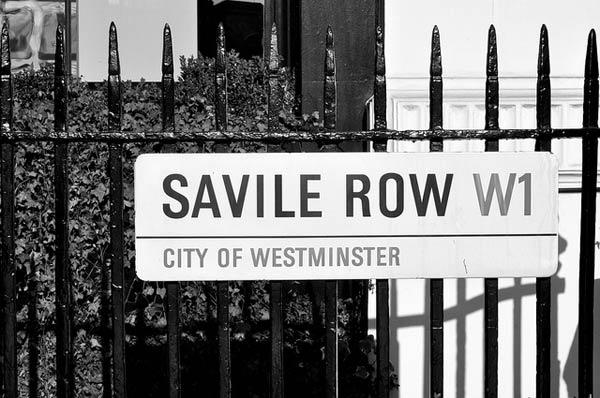 Savile Row by Marv Gillibrand