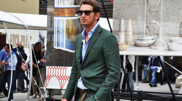 Green Suits – Looking Mean In Green