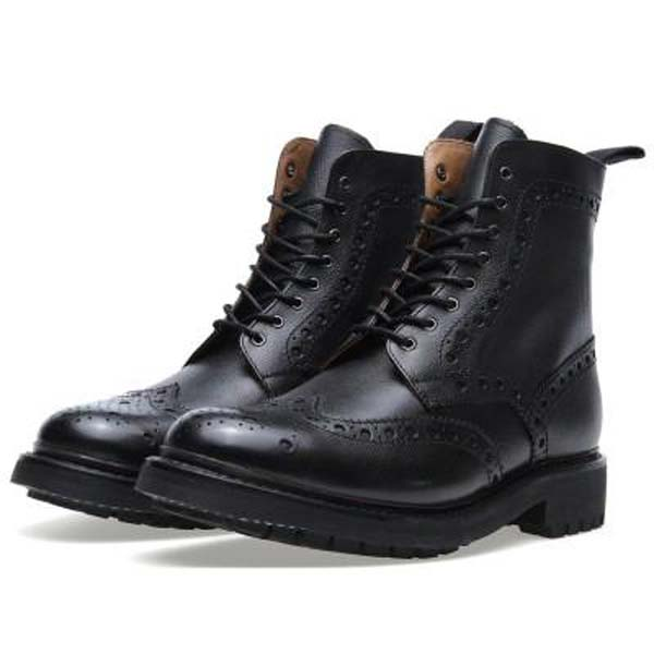 Grenson Fred Commando sole brogue Derby boot Churchs