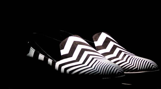 Slippers Zebra Print for men Nicholas Kirkwood