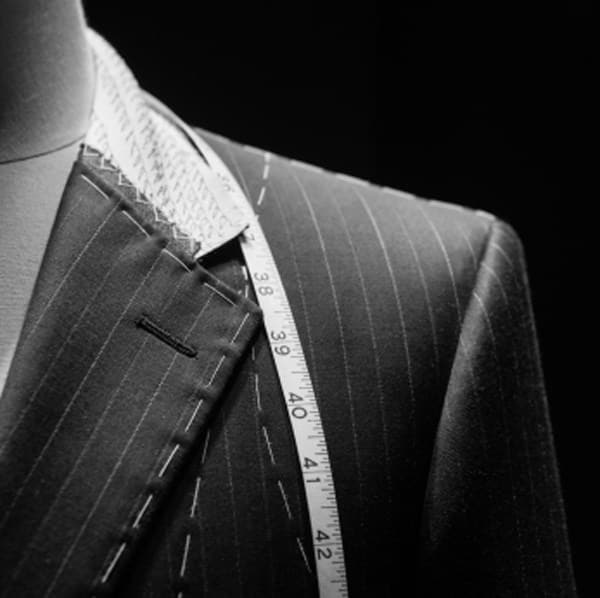Bespoke tailoring for men