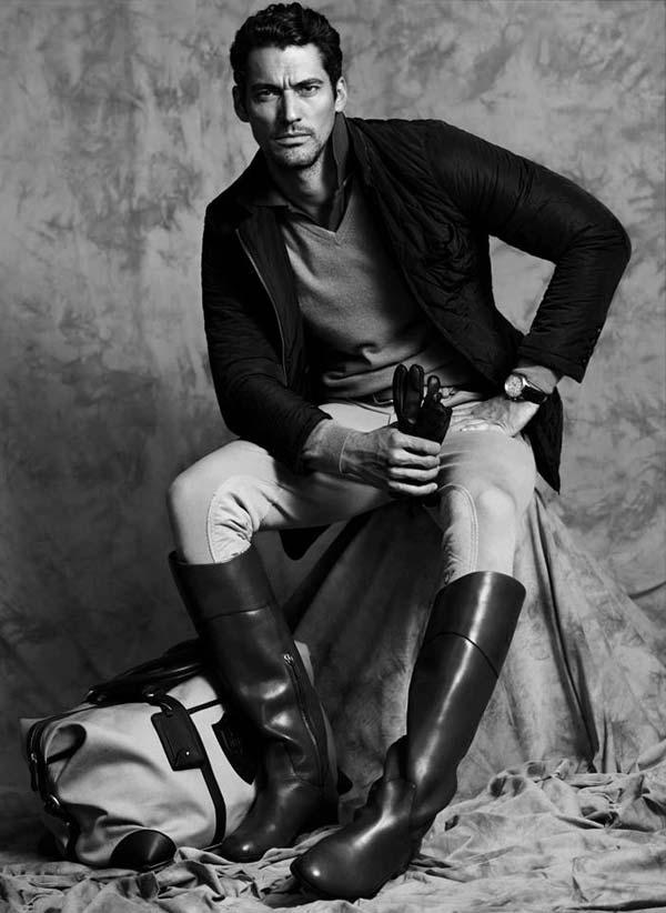 Knee High Boots For men David Gandy - Massimo Dutti