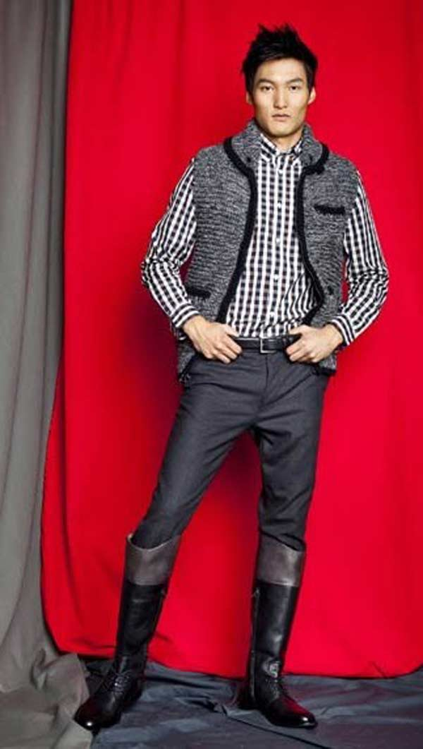 Knee High Boots For men riding boots