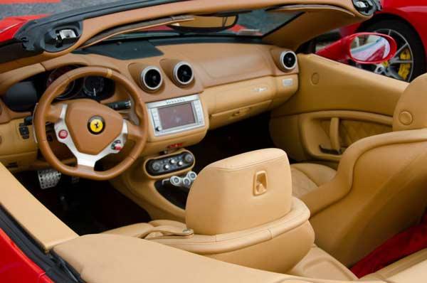 Maranello Emilia Romagna Italy Ferrari Interior