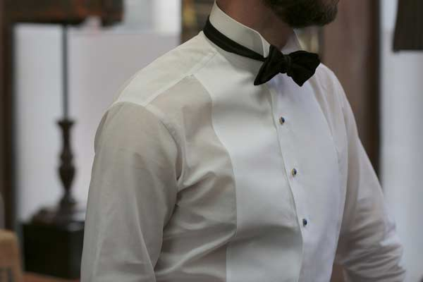 White Shirts for black tie events