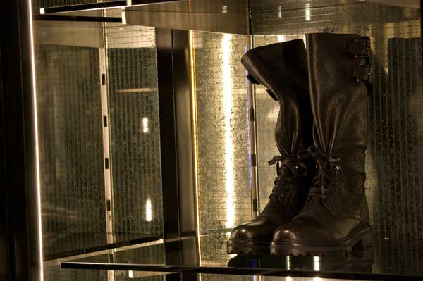 BELSTAFF - CALFSKIN LEATHER BOOTS 2014