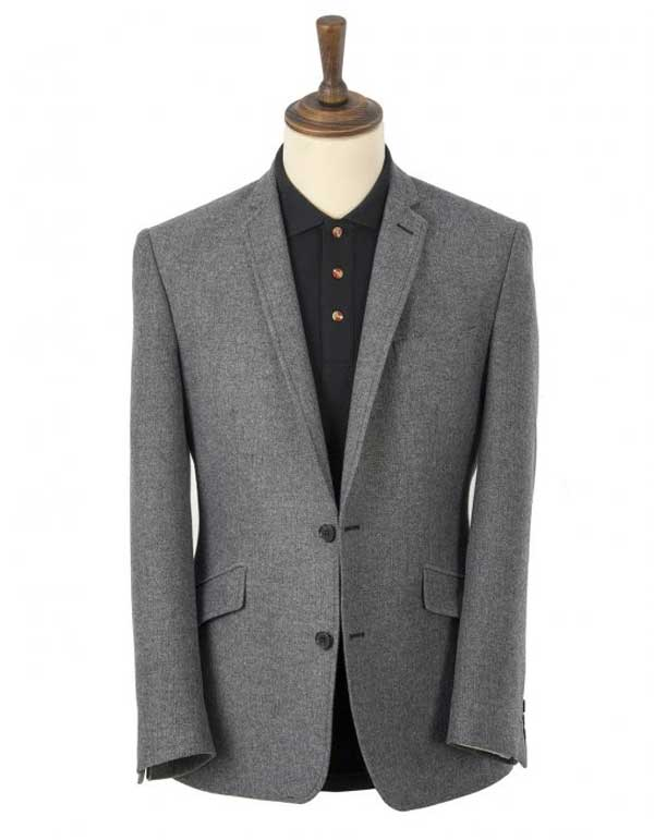 Grey Blazer for men