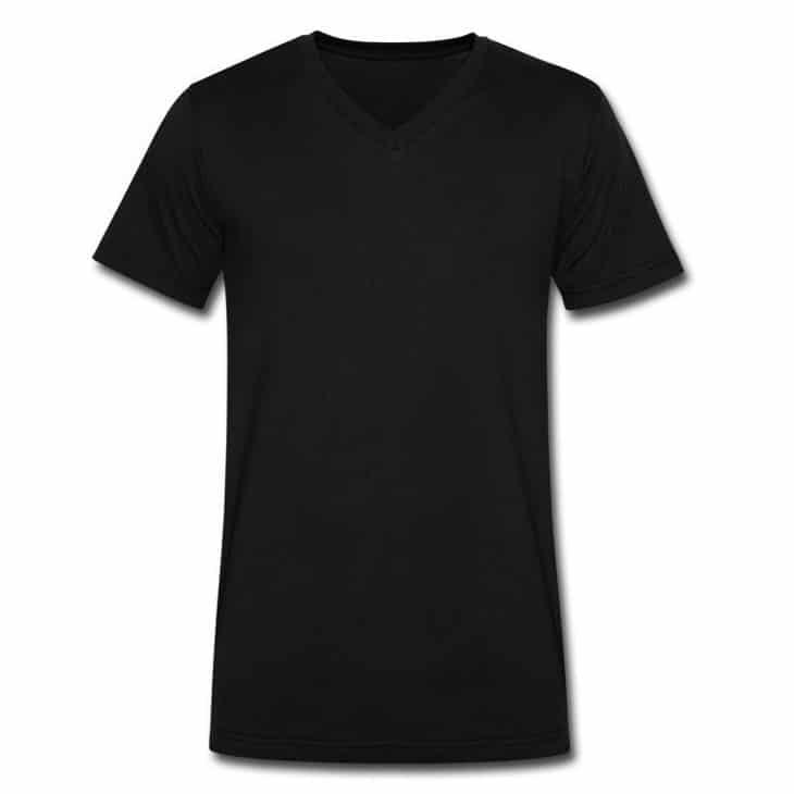 Black V- T-Shirt