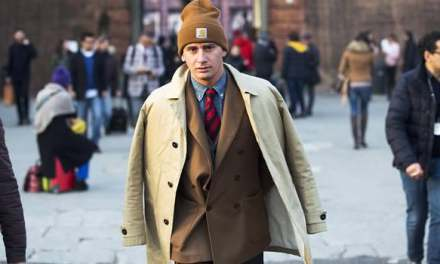 Pitti Uomo Street Style – Beanie Tailored Suit Trend