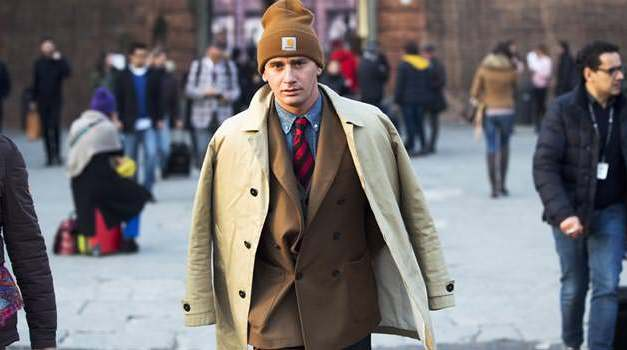 Pitti Uomo Street Style – Beanie Tailored Suit Trend