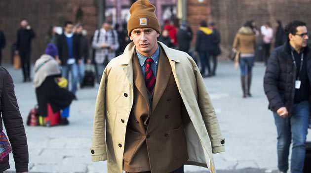 Pitti Uomo - Beanie worn with tailored suits