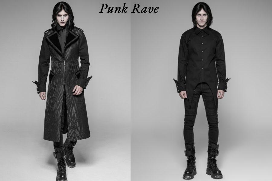 punk rave clothing men