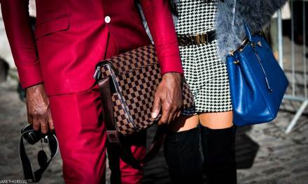 London Fashion Week Street Style – Real Men Don't Pose